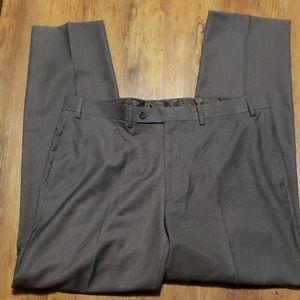 Lauren Ralph Lauren grey houndstooth dress pants